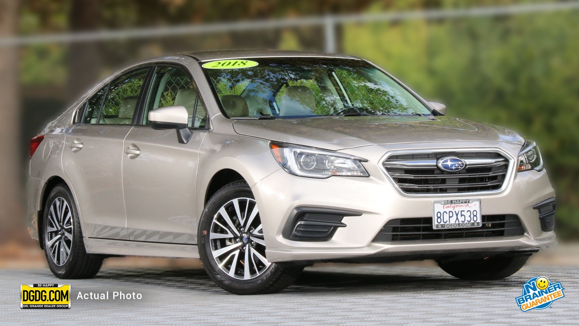 Subaru Legacy: SUBARU advanced frontal airbag system