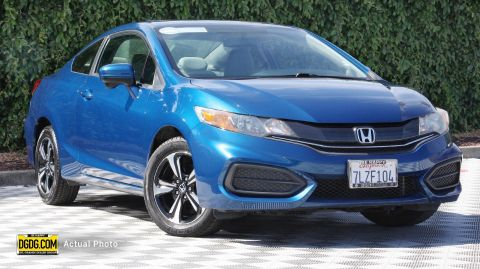 2015 Honda Civic EX FWD 2D Coupe