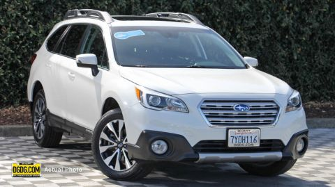 2017 Subaru Outback 2.5i Limited With Navigation & AWD