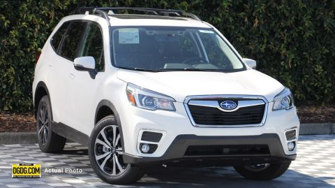2019 Subaru Forester Limited With Navigation & AWD